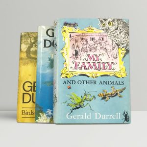 gerald durrell the corfu trilogy first edition set1