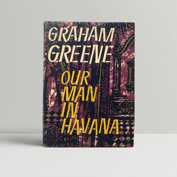 graham greene our man in havana first edition blofeld1