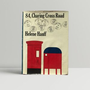 helene hanff 84 charing cross road fisrt edition1