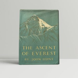john hunt the ascent of everest signed first edition1