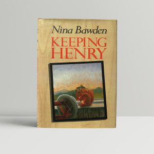 nina bawden keeping henry signed first edition1