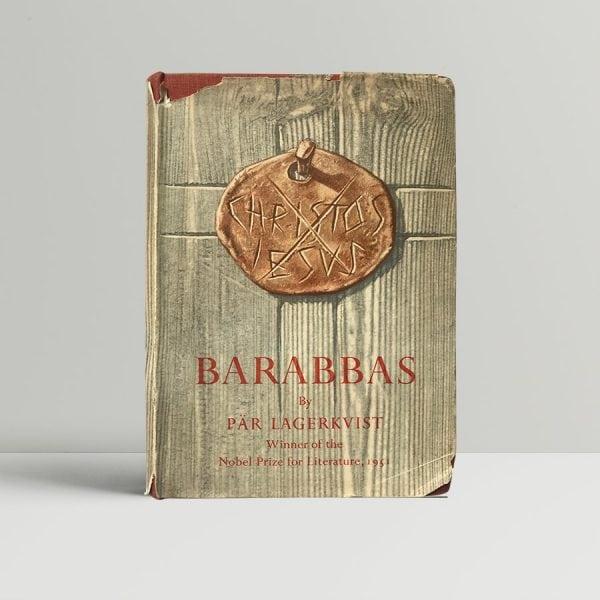 per lagerkvist barabas first edition1