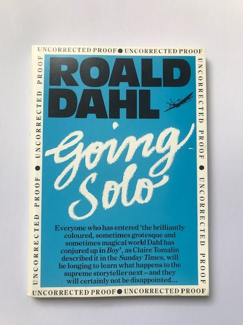 roald dahl going solo uncorrected proof2