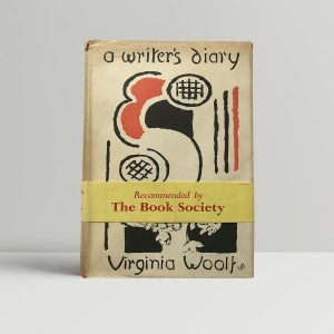 virginia woolf a writers diary first edition1