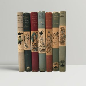 C S Lewis Chronicles Of Narnia First Editions