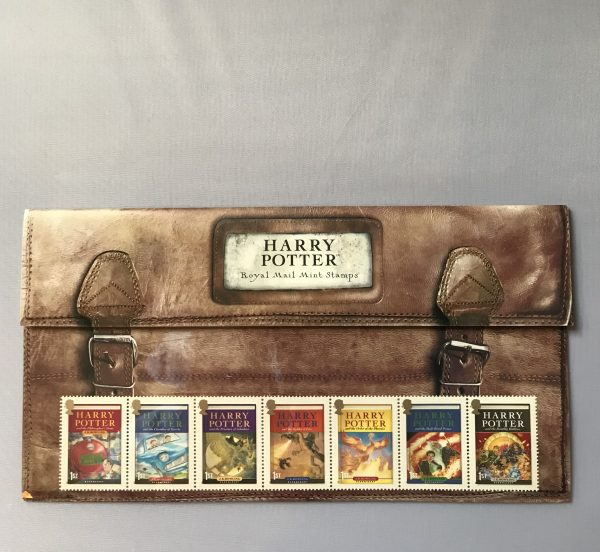 JK Rowling Harry Potters School Books With Stamps3
