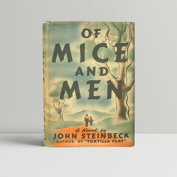 John Steinbeck Of Mice and Men First US Edition1