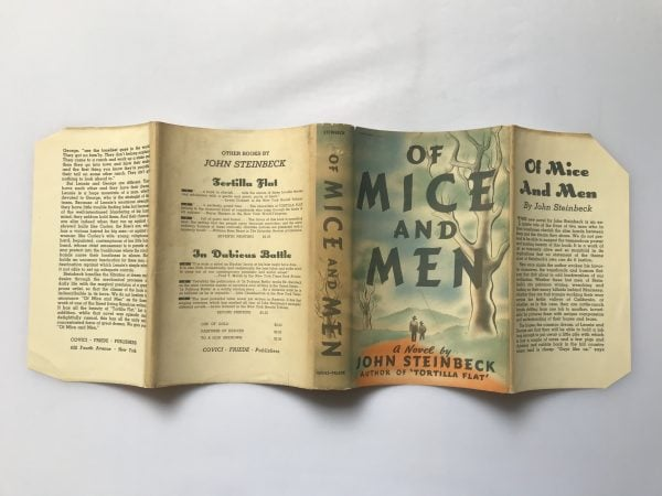 John Steinbeck Of Mice and Men First US Edition4