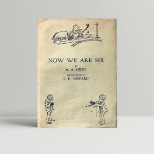 aa milne now we are six first edition1