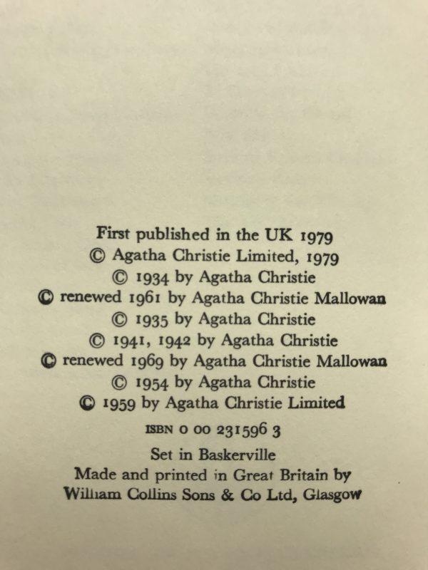 agatha chrstie miss marples 6 final cases first edition2
