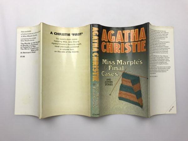 agatha chrstie miss marples 6 final cases first edition4