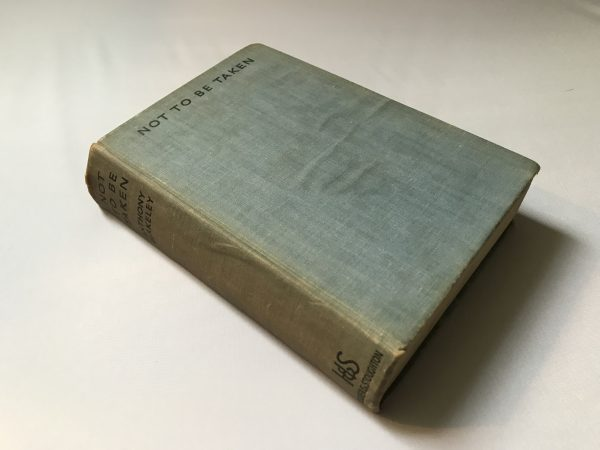 anthony berkeley not to be taken first edition3