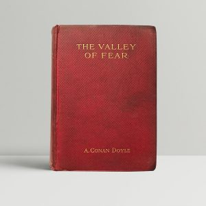 arthur conan doyle the valley of fear first edition1