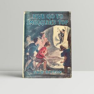enid blyton five go to smugglers top signed first edition1
