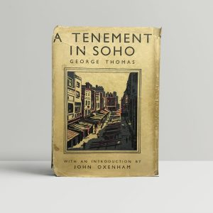 george thomas a tenement in soho first edition1