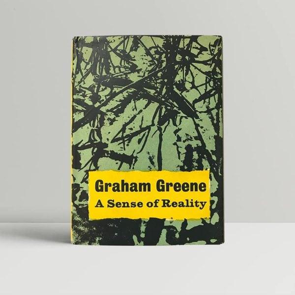 graham greene a sense of reality first edition1