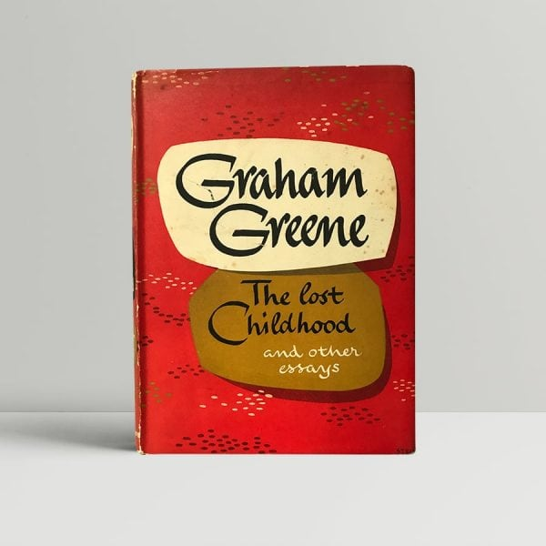 graham greene the lost childhood first edition1 1