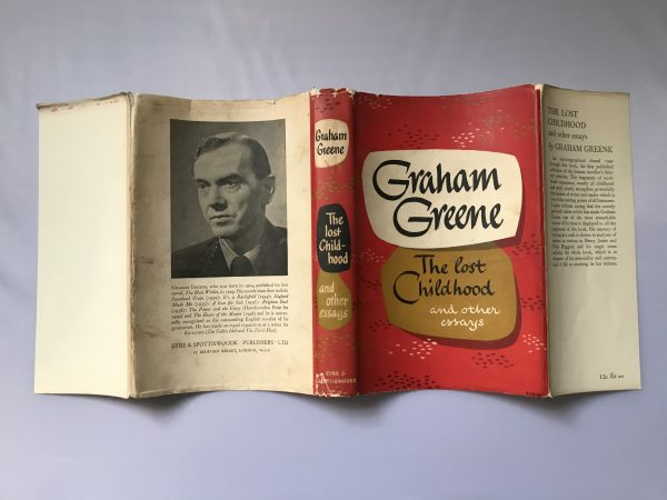 graham greene the lost childhood first edition5 1