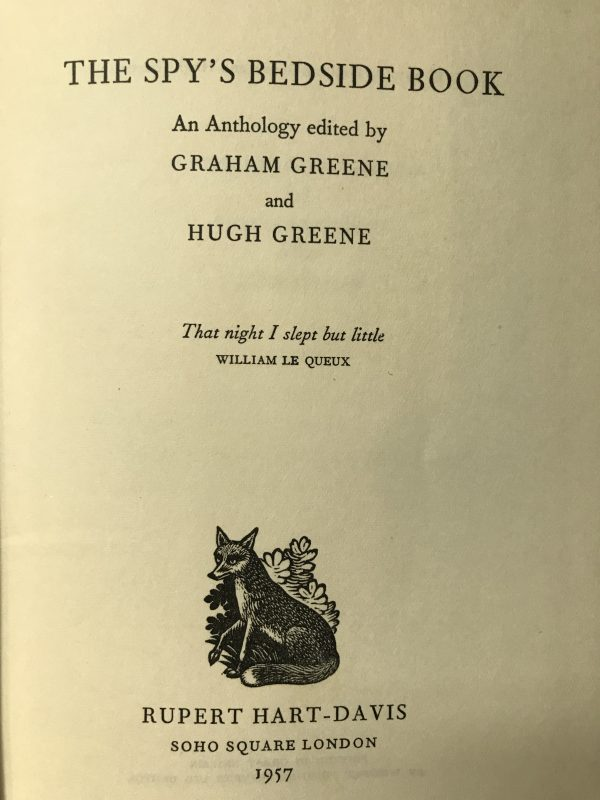 graham greene the spys bedside book first edition3