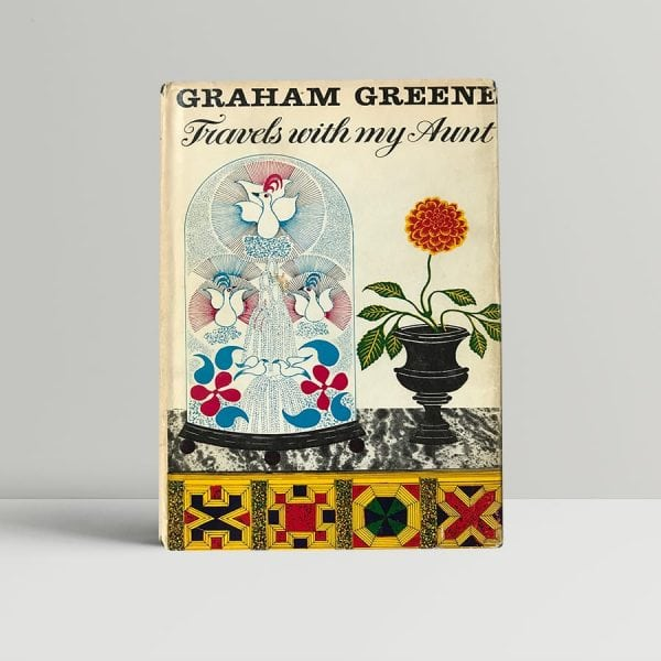 graham greene travels with my aunt first edition1