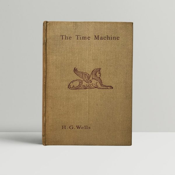 hg wells the time machine first edition1