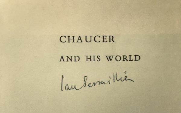 ian serraillier chaucer and his world signed first edition2