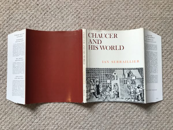 ian serraillier chaucer and his world signed first edition5