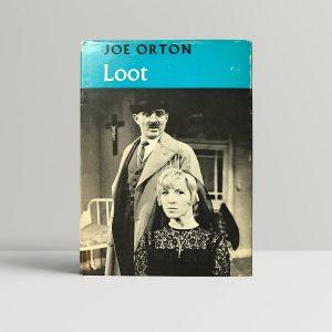 joe orton loot Signed first edition1