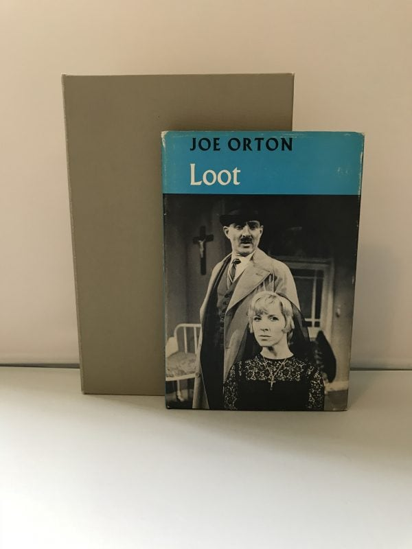 joe orton loot Signed first edition6