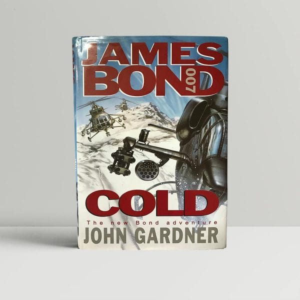 john gardner cold first edition1
