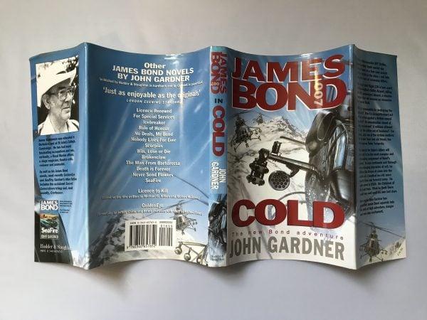 john gardner cold first edition4