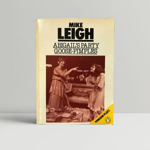 mike leigh abigails party first edition1