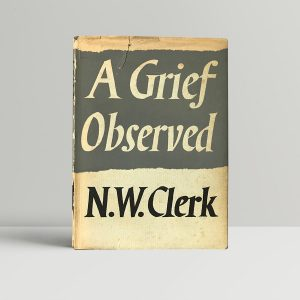 nw clerk a grief observed first edition1