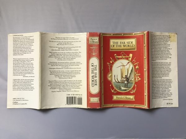patrick obrian the far side of the world first edition4