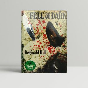reginald hill fell of dark signed first edition1
