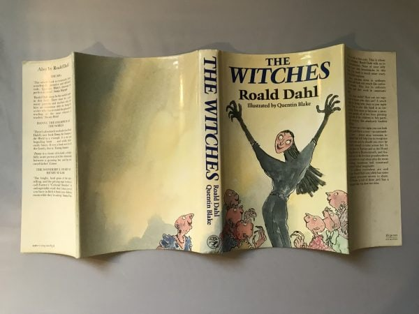 roald dahl the witches first edition4