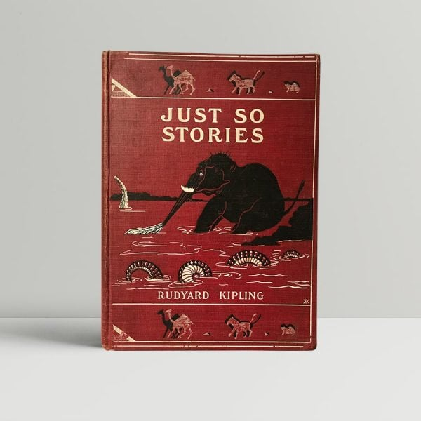 rudyard kipling just so stories first edition1