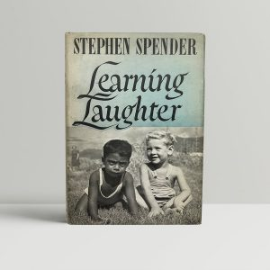 stephen spender learning laughter signed first edition1