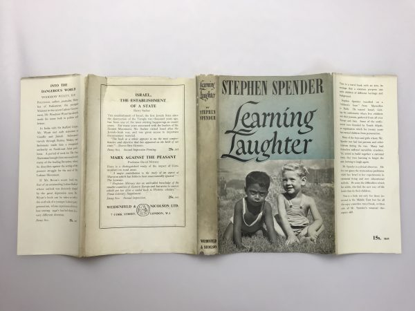 stephen spender learning laughter signed first edition5