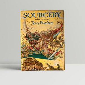 terry pratchett sourcery first edition1