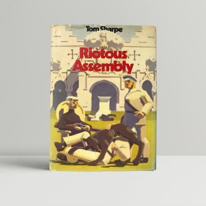 tom sharpe riotous assembly first edition1