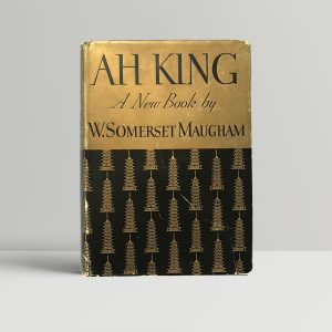w somerset maugham ah king signed first edition1