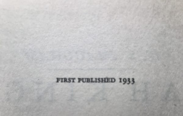 w somerset maugham ah king signed first edition4