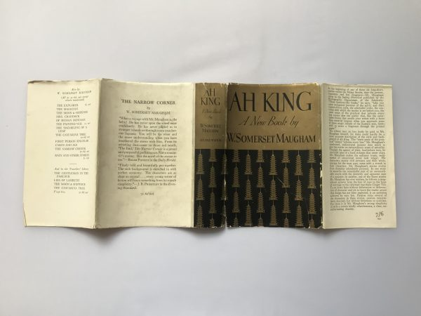 w somerset maugham ah king signed first edition5