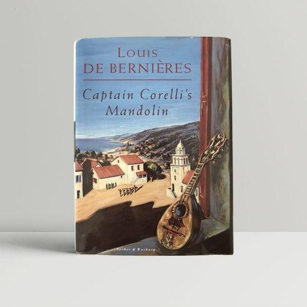 Louis de Bernieres–Captain Corellis Mandolin First UK Edition1