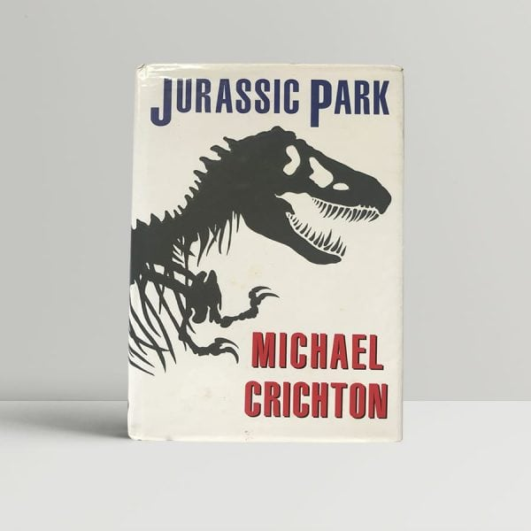 Michael Crichton Jurassic Park First Edition1