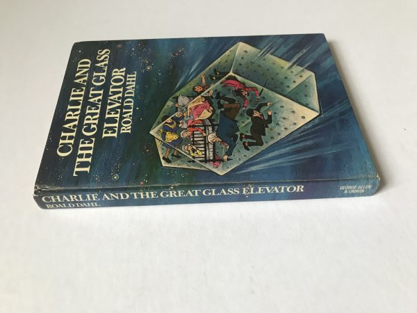Roald Dahl Charlie And The Great Glass Elevator First UK Edition3