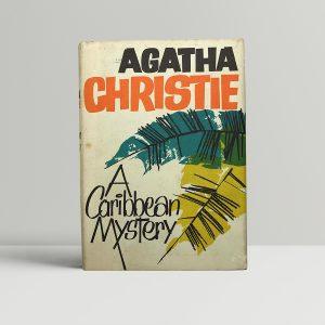 agatha christie a caribbean mystery first ed1