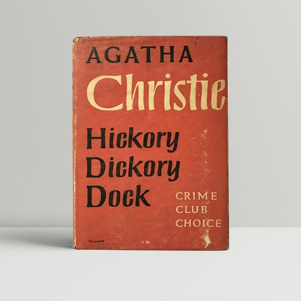 agatha christie hickory dickory dock first edition1
