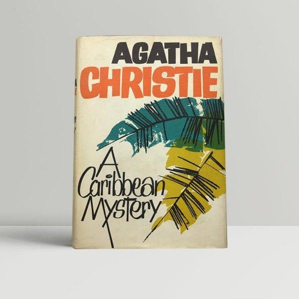 agatha chrstie a caribbean mystery first edition1